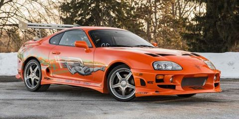 "Buy this Paul Walker Toyota Supra from ""The Fast and the Furious"""