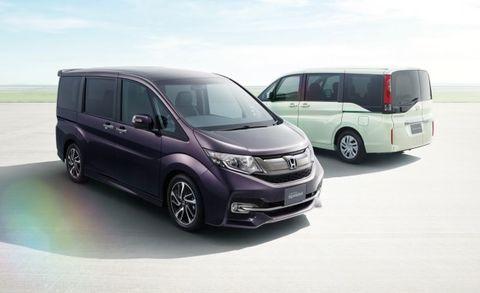 688d91a9c7 Japan-Market Minivan Cool  New Honda Step WGN – News – Car and Driver