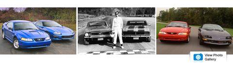 50 Years of Camaro vs  Mustang Sales Figures in Living Color