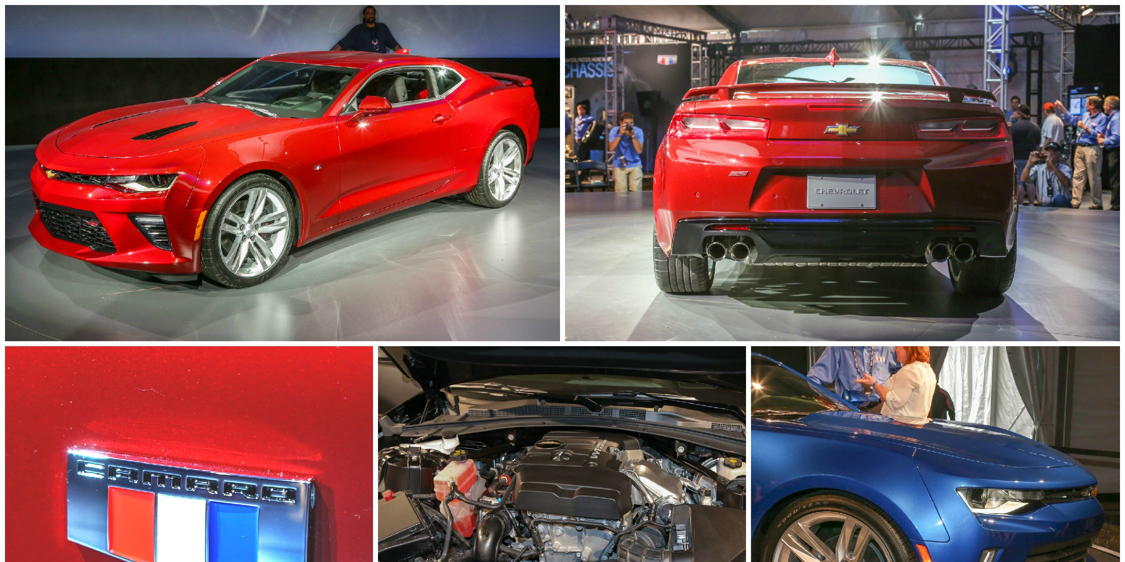2016 Chevrolet Camaro Up Close and Personal, Live from the Reveal!