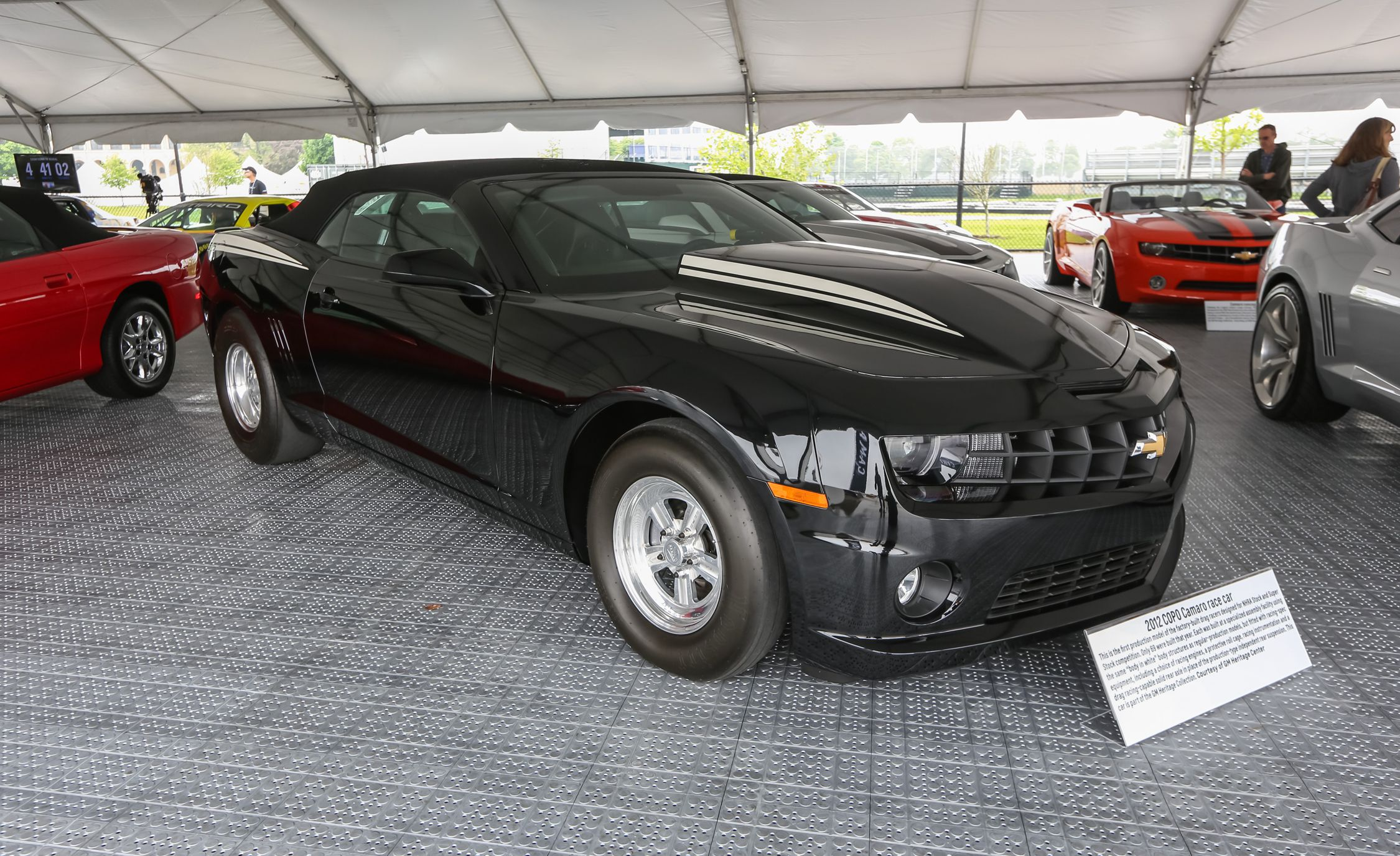 Tour the Historic Camaros Displayed at the 2016 Chevy