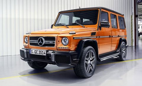Mercedes G Cl Gets More Horses Same Very Old Shape