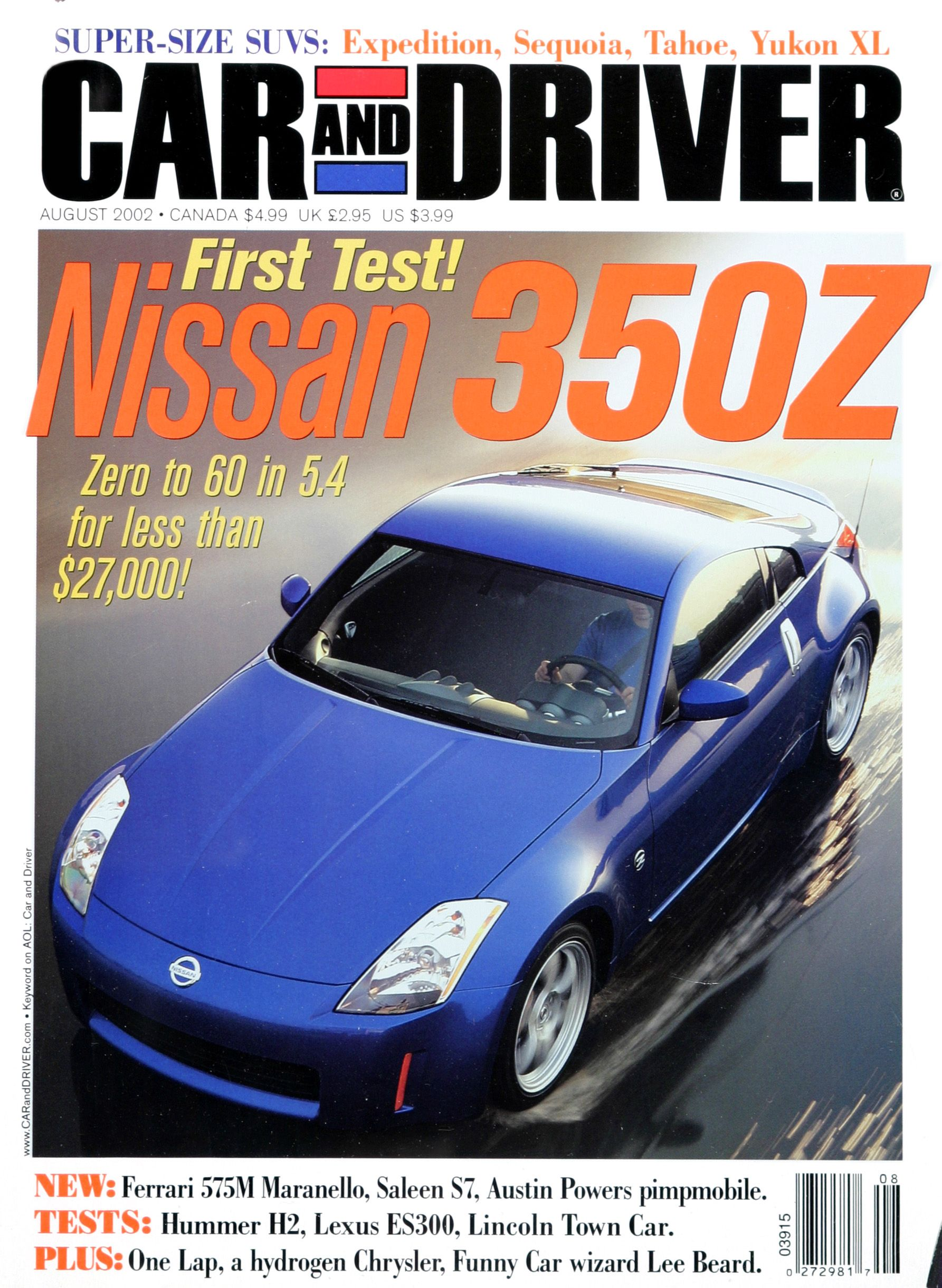 Going Millennial: The Car and Driver Covers of the 2000s and