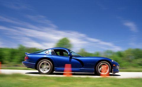 Land vehicle, Vehicle, Car, Sports car, Coupé, Race car, Dodge Viper, Chrysler viper gts-r, Supercar, Performance car,