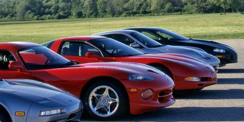 The Quickest Cars Car and Driver Has Ever Tested, from the 1950s to