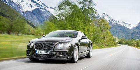 Land vehicle, Vehicle, Car, Luxury vehicle, Bentley continental gt, Automotive design, Personal luxury car, Bentley, Performance car, Mid-size car,
