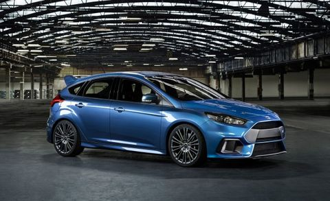 Official 2016 Ford Focus Rs Pricing