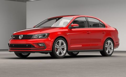 2015 Jetta Gli >> New Fascia And Audio Mark The 2016 Vw Jetta Gli News Car