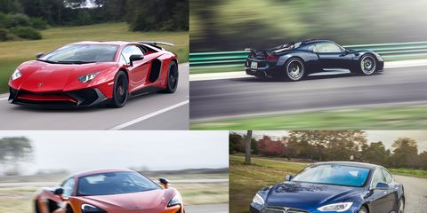 Car and Driver Tested: The 15 Quickest Cars of the 21st Century (So Far)