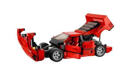 Lego's New Ferrari F40 Kit is the Ferrari F40 of LEGO Kits – News