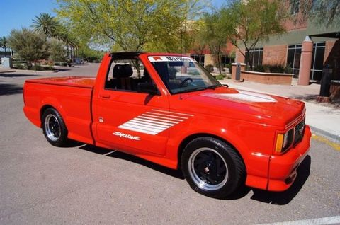 Is This Targa-topped, Marlboro Red GMC Syclone Worth $80K