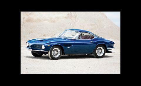 Tire, Wheel, Blue, Vehicle, Classic car, Car, Performance car, Hood, Rim, Automotive lighting,