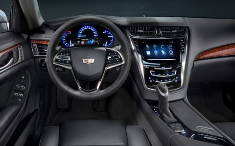 Cadillac Introduces 2016 Cts Midnight
