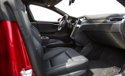 2015 tesla model s p85d front seat