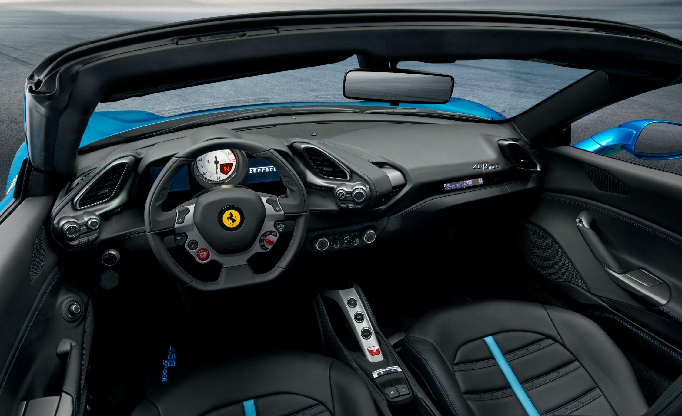2016 Ferrari 488 Spider The 488gtb Gains A Folding Roof News Car And Driver