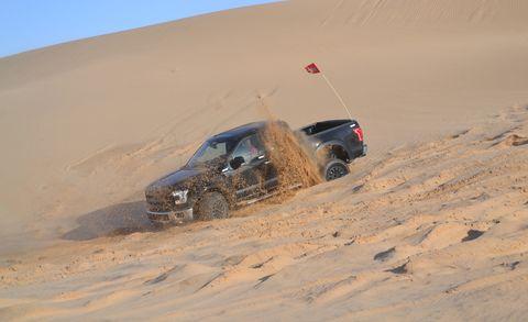 Sand, Automotive design, Natural environment, Aeolian landform, Erg, Automotive exterior, Desert, Landscape, Automotive tire, Dune,