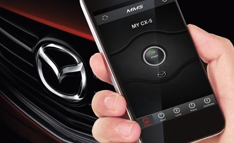 Remote Car Starter App >> Mazda Introduces Mobile App With Remote Vehicle Features News