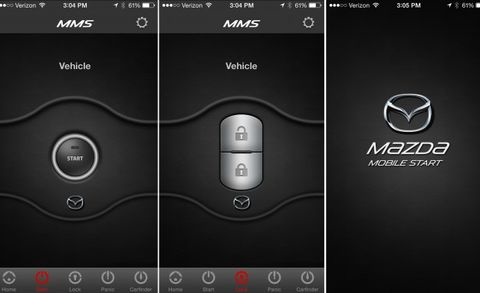 Mazda Remote Start >> Mazda Introduces Mobile App With Remote Vehicle Features News