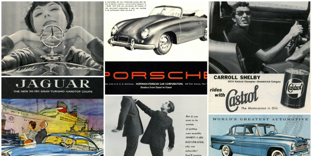 Advertising The 1950s These 60 Year Old Car Ads Are Undeniably Cool