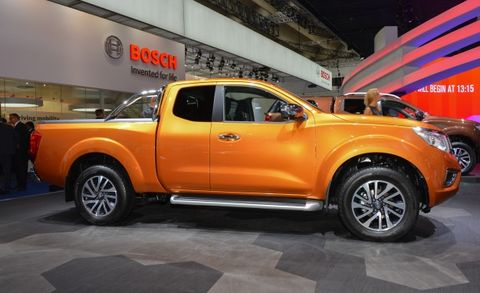 The Next Frontier Edges Closer: New Nissan Navara Pickup