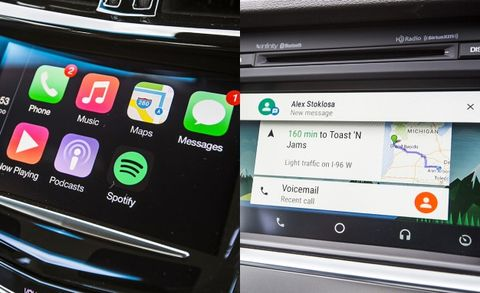 Apple CarPlay vs  Android Auto: We Test Both – Feature – Car
