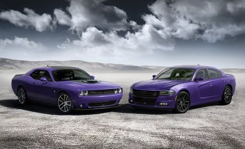Dodge Goes Plum Crazy Again with Purple Charger and