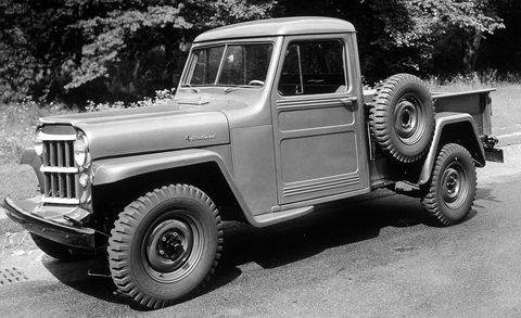 Land vehicle, Vehicle, Car, Motor vehicle, Jeep, Pickup truck, Truck, Willys jeep truck, Sport utility vehicle, Classic,