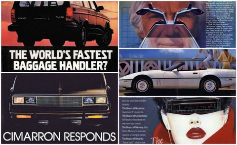 44 of the Most Bodacious Car Ads of the 1980s – Feature