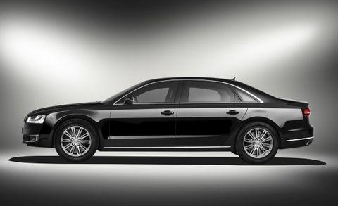 2016 Audi A8l Security