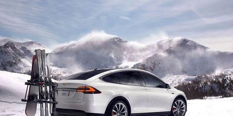 Land vehicle, Vehicle, Car, Tesla model s, Tesla, Automotive design, Luxury vehicle, Family car, Crossover suv, Tesla model x,