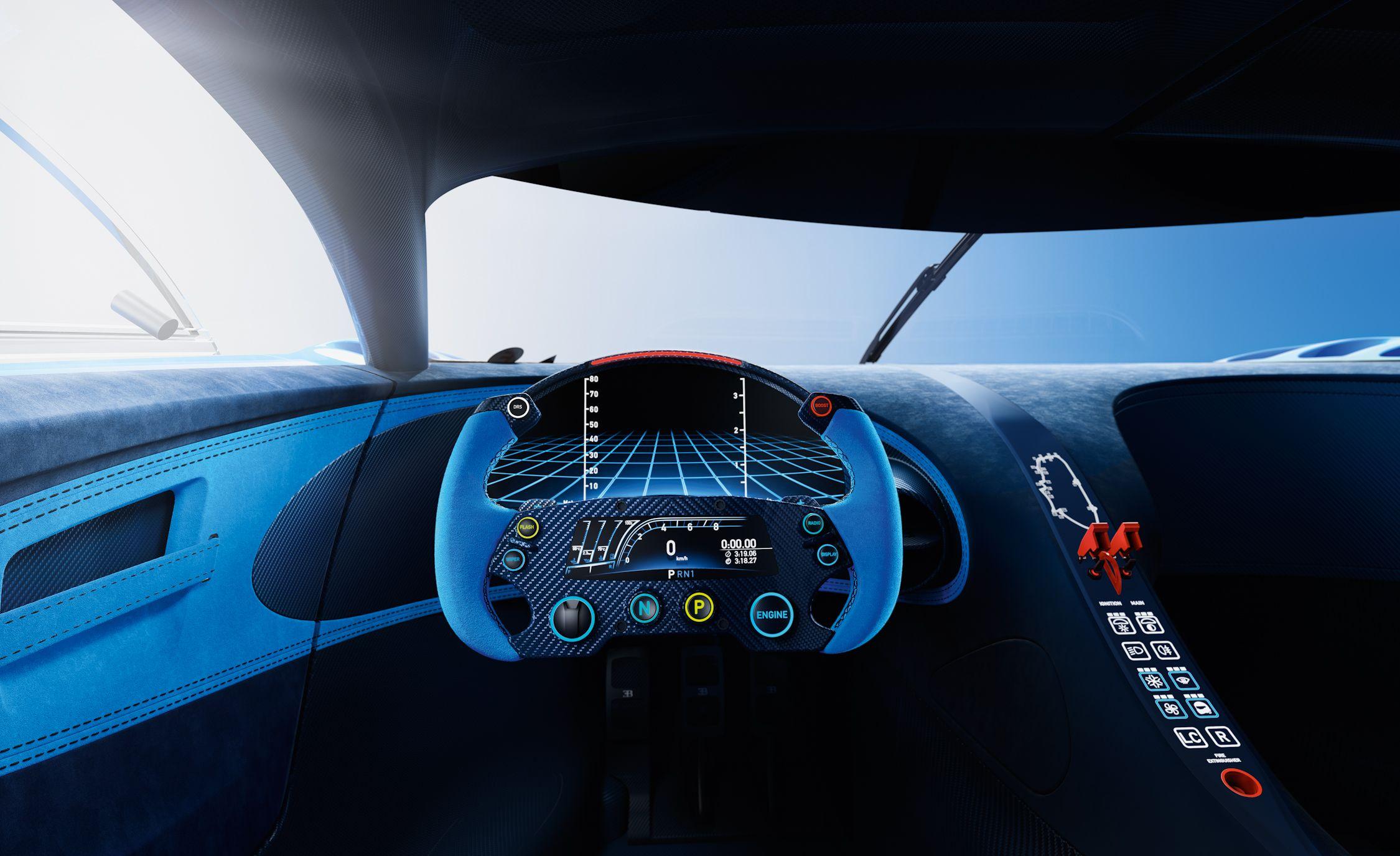 Bugatti Vision Gran Turismo Becomes Ever So Slightly More Real News Car And Driver