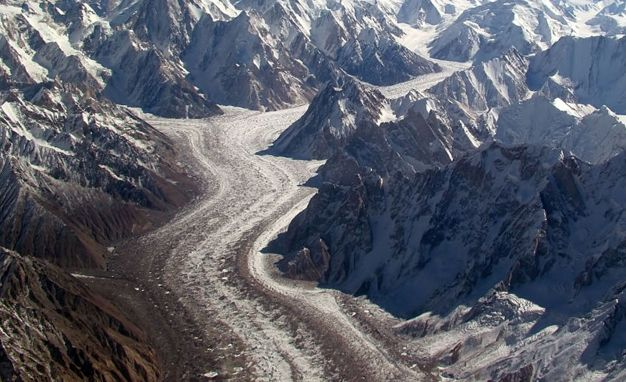 road through rocky barren land
