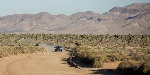 Road, Landscape, Aeolian landform, Sand, Desert, Ecoregion, Mountain, Dirt road, Shrubland, Badlands,