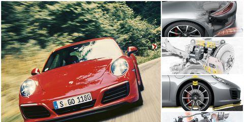 porsche 911 carrera collage