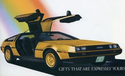 American Express Car Buying >> In 1980 You Could Buy An 85 000 24k Gold Plated Delorean