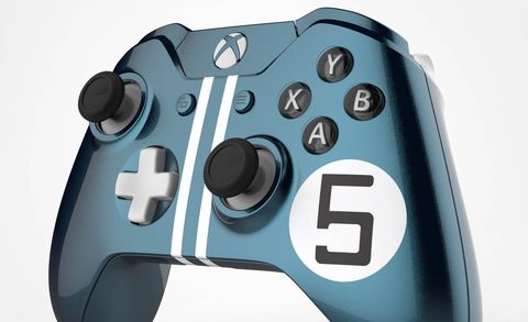 Blue, Input device, Azure, Grey, Space, Teal, Machine, Circle, Game controller, Peripheral,