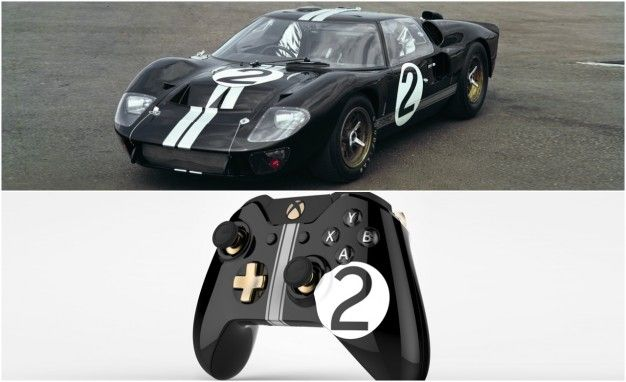 Forza and Ford\u0027s Retro,Inspired Xbox One Controllers Are