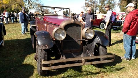 Treasure Hunting at Hershey, the World's Largest Old-Car Swap Meet