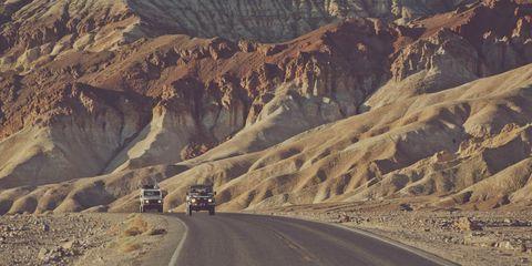 Road, Mountainous landforms, Road surface, Infrastructure, Motorcycle, Asphalt, Highway, Thoroughfare, Geology, Travel,