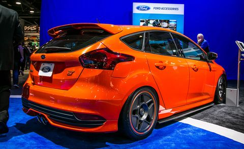 Four Tuned Focus STs Appearing at the 2015 SEMA Show – News
