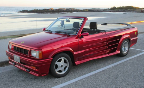 For Sale Now The Pickup Truck You Wished Ferrari Would Build News Car And Driver