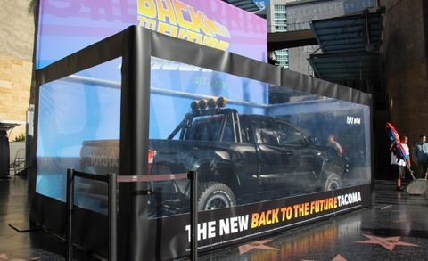 Marty Mcfly Truck >> Toyota Creates Bad Ass Homage To Marty Mcfly S Pickup