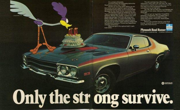 car ads 1970s