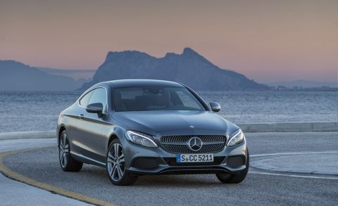 2017 Mercedes Benz C300 Coupe Priced