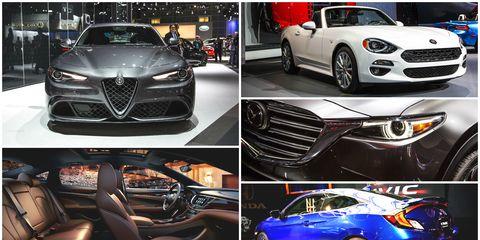 2015 la auto show collage