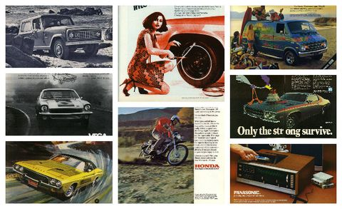These '70s Car Ads Define a Nation Desperately Trying to