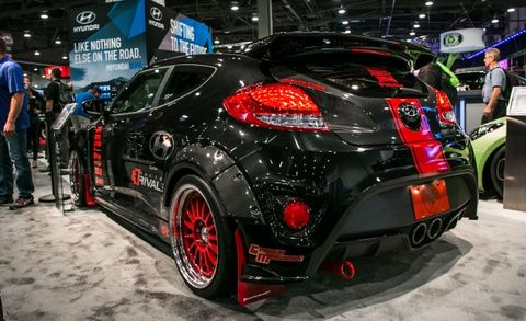 Blood Type Racing Hyundai Veloster Turbo is a 500-hp Demon