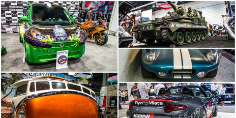 The Very Best Rides of SEMA 2015, Day One