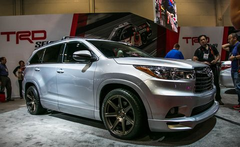 Toyota Highlander Trd Concept Placement