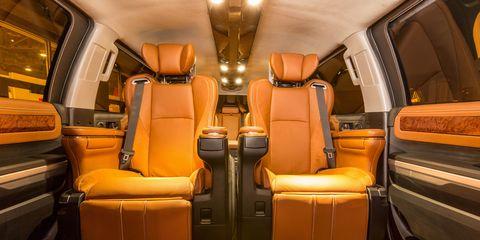 Mode of transport, Brown, Transport, Orange, Public transport, Tan, Vehicle door, Head restraint, Car seat, Leather,